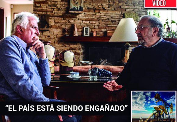 El ambientalista Pablo Leyva prende las alarmas sobre el fracking