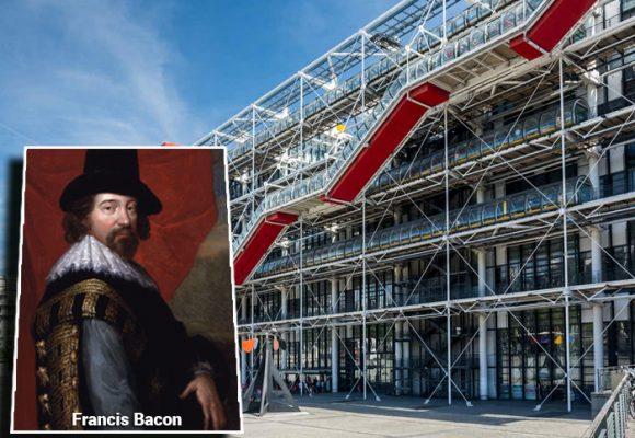 Francis Bacon en el centro Georges Pompidou de París