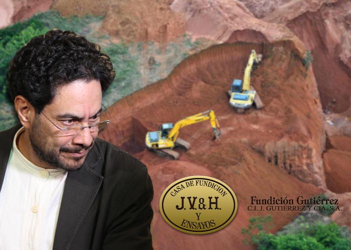 Tatequieto del senador Cepeda a C. I. J. Gutiérrez, la más antigua fundidora de oro de Colombia