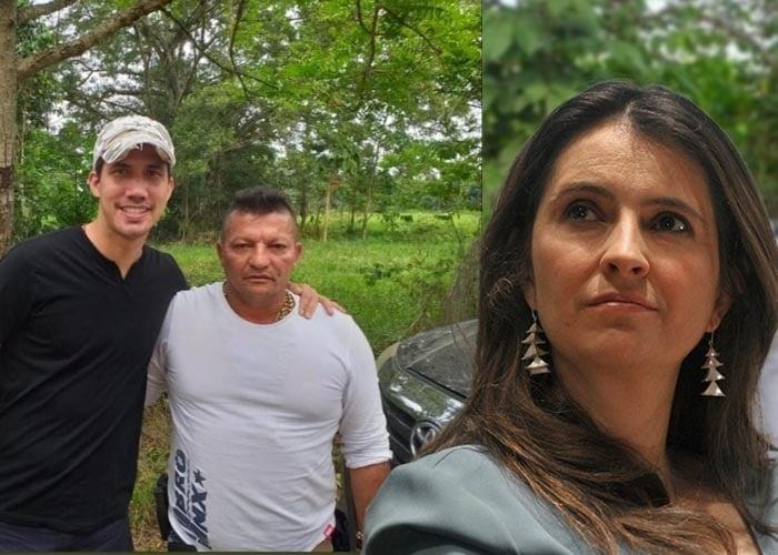 Paloma Valencia justifica la foto de Guaidó con narcoparamilitares de Los Rastrojos
