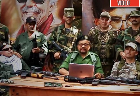 Márquez lanza el movimiento cívico militar de las nuevas Farc