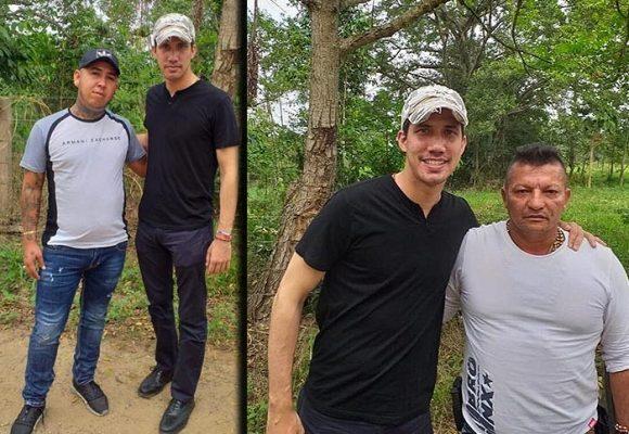 Las fotos que probarían que Los Rastrojos metieron a Guaidó a Colombia