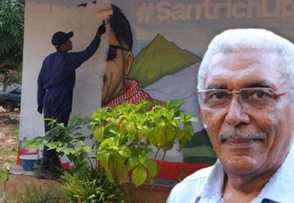 Joaquín Gómez le da la espalda a Jesús Santrich