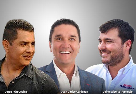 Cárdenas, Pumarejo y Ospina liderando