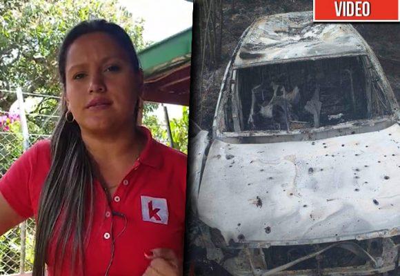 El video donde la candidata a la alcaldía de Suárez suplicaba por su vida