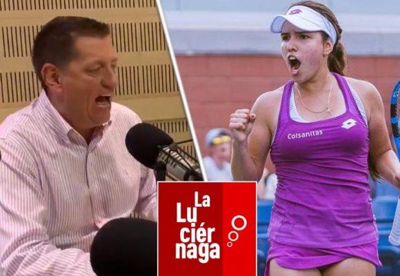 Las burlas de La Luciérnaga a la tenista María Camila Osorio