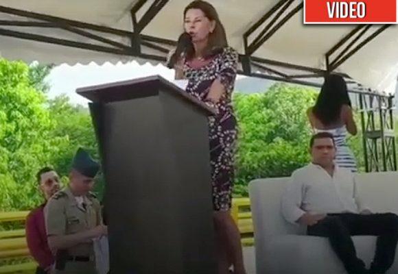 El abucheo a la vicepresidenta en Santa Marta