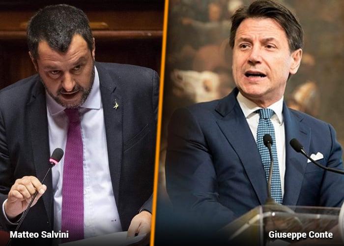 Arranca nuevo gobierno en Italia: sale el radical Salvini
