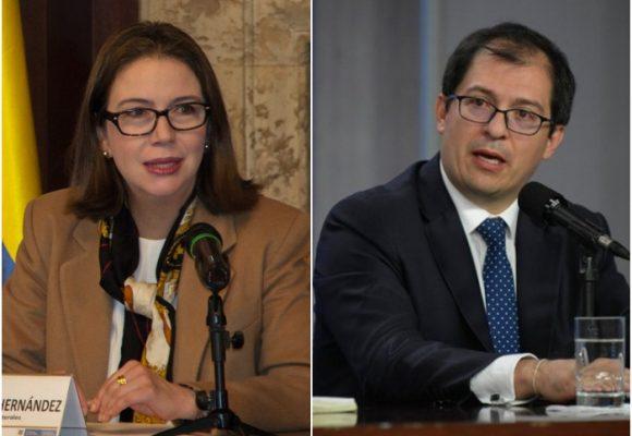 Consejero de DDHH y vicecanciller apaciguan el efecto Márquez