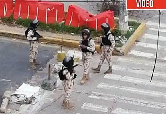Militares disparan a estudiantes de la Universidad del Atlántico