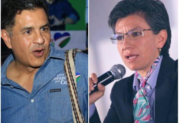 Video: Claudia López parte cobijas con Jorge Iván Ospina por su alianza con la U