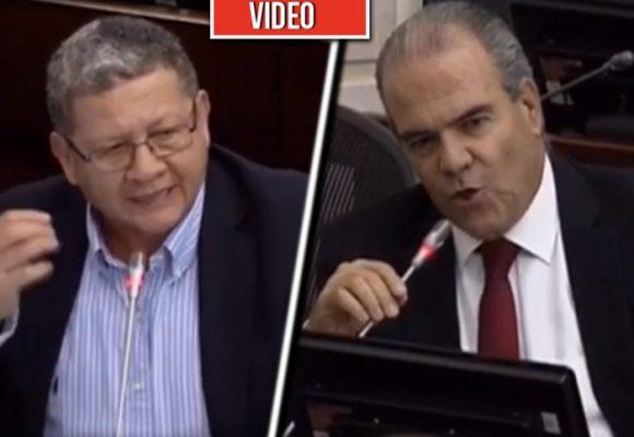 VIDEO: Catatumbo se cansó de los insultos de un senador uribista