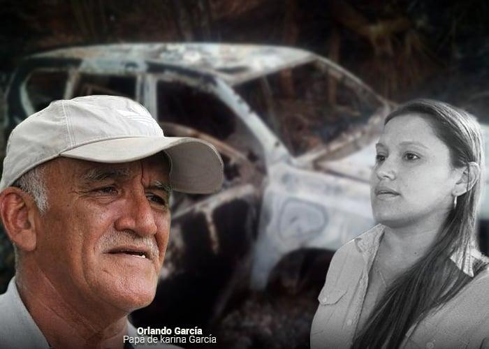 El calvario de Orlando García, el padre de la candidata asesinada en Suárez