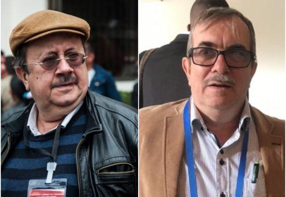 Tres reconocidos jefes guerrilleros Farc hacen rancho aparte