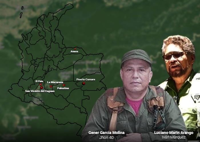 John 40, el guerrillero clave en la travesía de Marquez y El Paisa hacia Venezuela