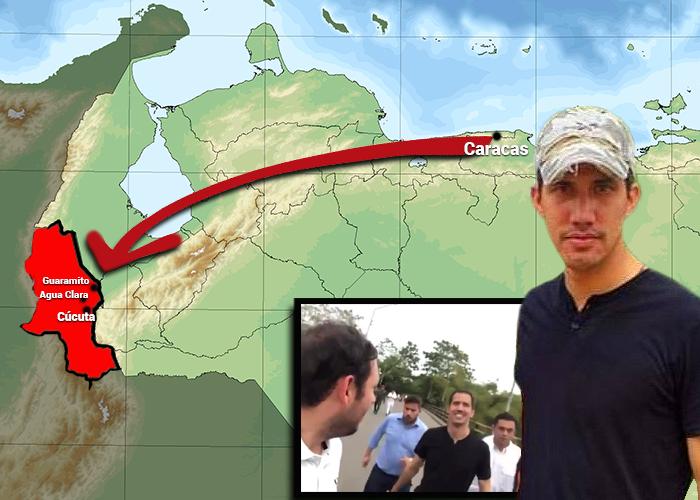 Así fue la entrada de Guaidó a Colombia