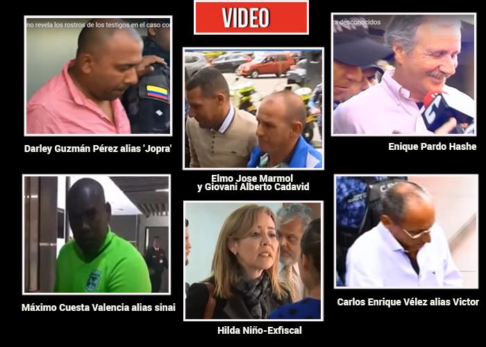 Por fin se conoce los rostros de los testigos contra Uribe
