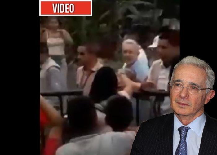VIDEO: Nuevo abucheo contra Uribe por no apoyar la paz