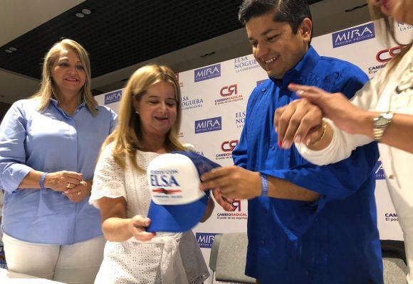 Los cristianos del MIRA se suben a la candidatura de Elsa Noguera