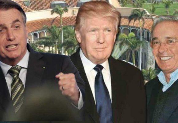 Amazonía y Chile: Bolsonaro, Trump y Uribe