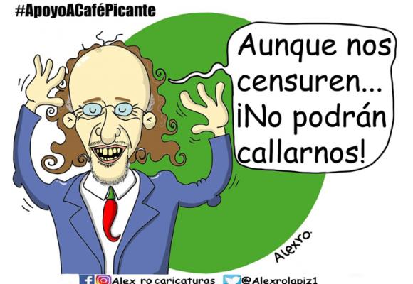Caricatura: La censura a Café Picante