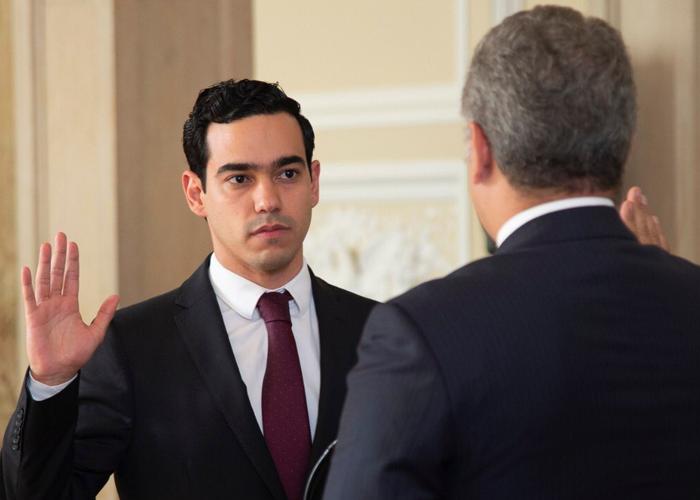 Luis Alberto Rodríguez, el director más joven del DNP