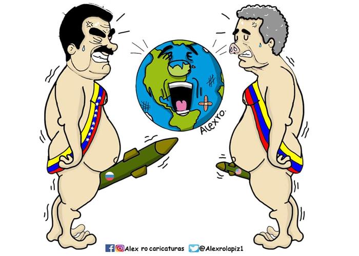 Caricatura: Se armó la gorda