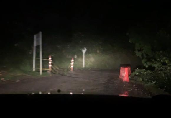 La terrible carretera al llano, vía Guateque