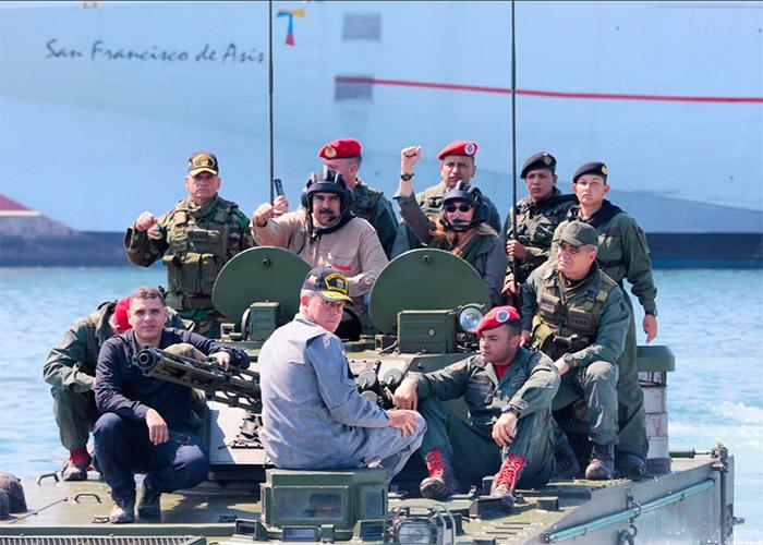 Aumenta la tensión: Venezuela inicia maniobras militares en frontera con Colombia