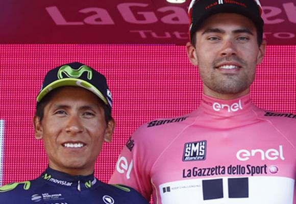 En 2017, Tom Dumoulin pudo haberle robado el Giro de Italia a Nairo