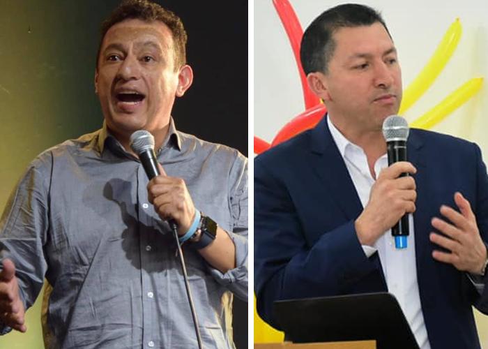Jhon Rojas y Damir Bravo, los de Uribe en Nariño