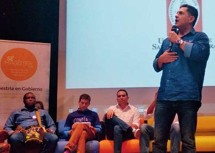 La perla de Ospina en el debate de los aspirantes a la alcaldía de Cali