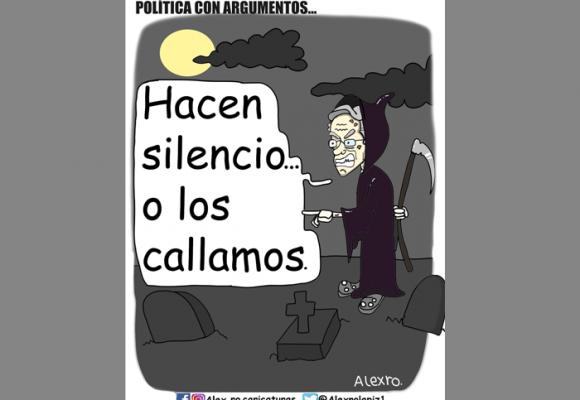 Caricatura: Política con argumentos