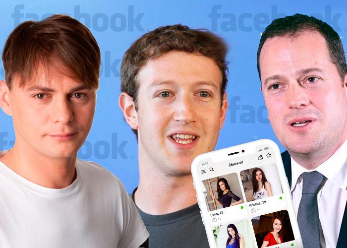 Tres jóvenes se pelean el negocio de las citas de amor por Internet