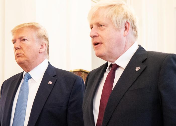 Donald Trump y Boris Johnson, las nuevas caras de la geopolítica mundial