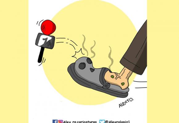 Caricatura: ¿Y ahora qué?