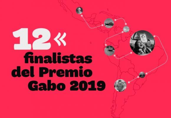 Listos los 12 finalistas que se disputarán el Premio Gabo 2019