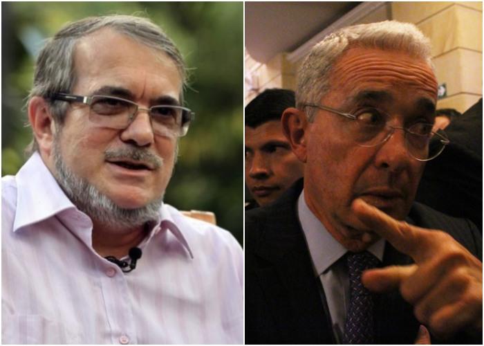Timochenko arremete contra Uribe: lo llamó adversario de guerra