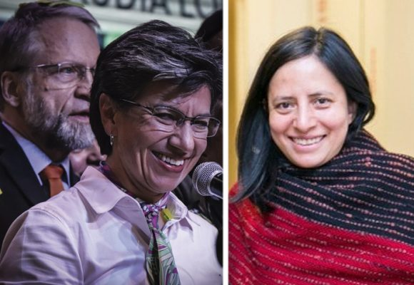 Claudia López destapa su carta para el empalme: Adriana Córdoba