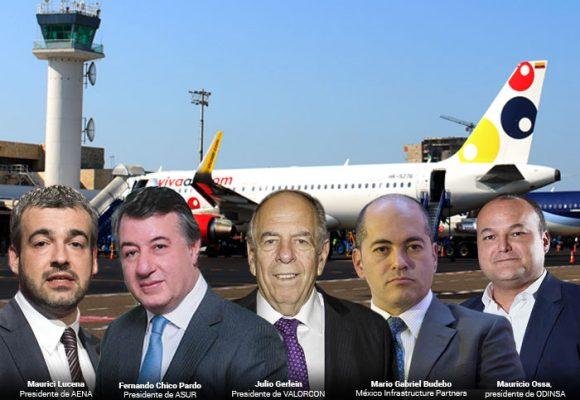 Aeropuertos en manos de españoles, mexicanos y tres empresas colombianas