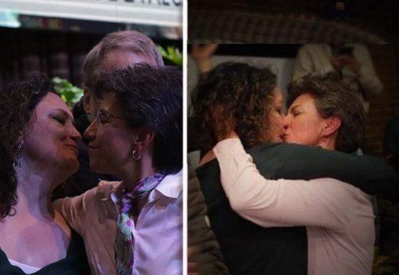Los disparatados prejuicios acerca del beso de Claudia López y su pareja