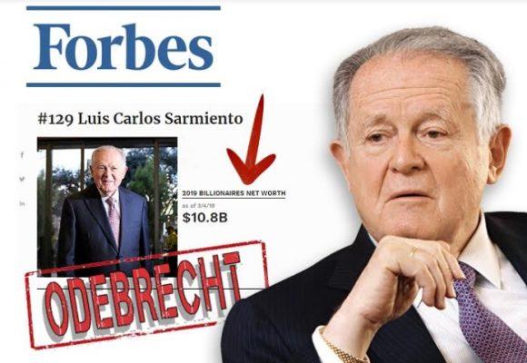 Golpe al bolsillo de Luis Carlos Sarmiento Angulo por los líos de Oderbrecht y la Ruta del Sol