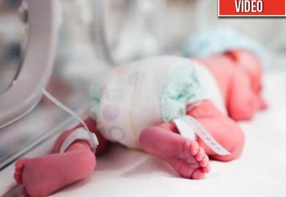 El bebé al que le amputaron por error un brazo en Cartagena