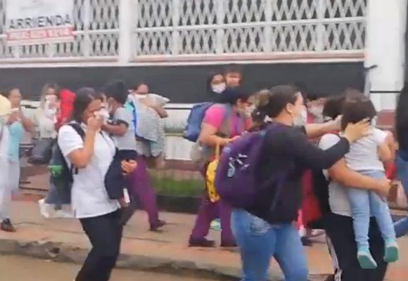 Los gases lacrimógenos del Esmad sofocaron a un hogar de niños en Popayan. Video