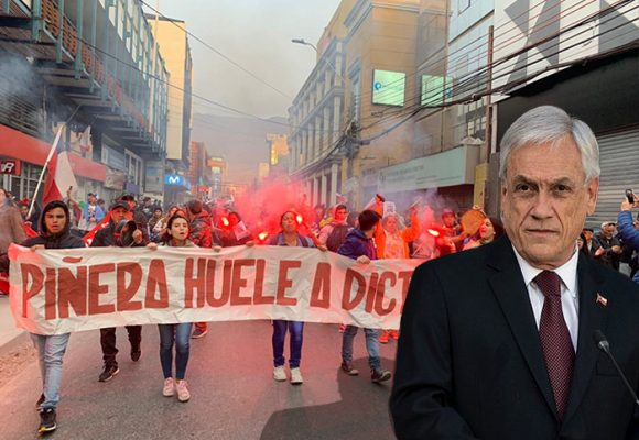 Sindicatos en Chileconvocan a paro general