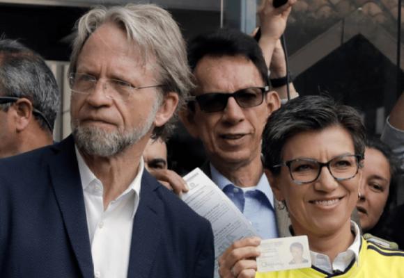 Cuando Claudia López trataba de lagarto a Antanas Mockus