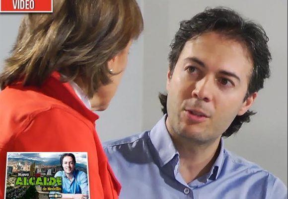 Daniel Quintero, el nuevo alcalde de Medellín, cuenta su historia