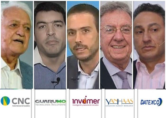 Los 5 encuestadores que se rajaron en las elecciones