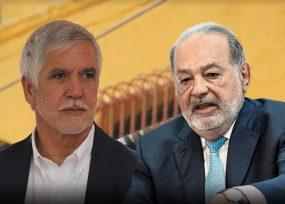 Carlos Slim y un consorcio chino, los finalistas para construir del metro de Bogota