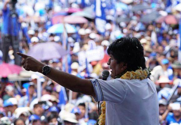 Evo Morales, cerca de su cuarto periodo presidencial